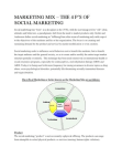 Marketing Mix - The 4 P's Of Social Marketing