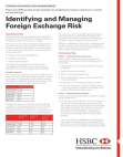 Study on Identifying and Managing Foreign Exchange Risk