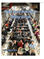 Flying Space Available On Military Aircraft II