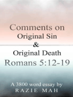 Comments on Original Sin and Original Death