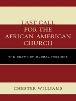 Last Call for the African-American Church
