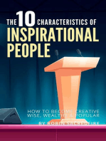 The 10 Characteristics of Inspirational People
