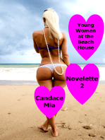 Young Women at the Beach House
