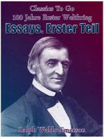 Essays. Erster Teil