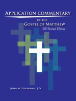 Application Commentary of the Gospel of Matthew