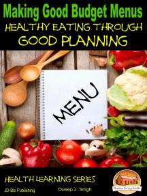 Making Good Budget Menus: Healthy Eating through Good Planning