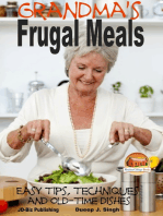 Grandma's Frugal Meals