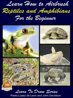 Learn How to Airbrush Reptiles and Amphibians For the Beginners