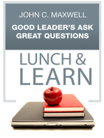 Good Leader's Ask Great Questions Lunch & Learn