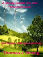 """A Study Guide On The """"Environment"""""""