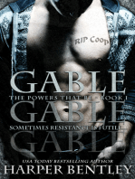 Gable (The Powers That Be, Book 1)