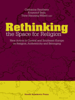 Rethinking the Space for Religion