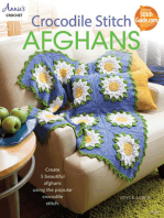 Crocodile Stitch Afghans