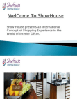 showhouse-ppt-10-jan-20 Free download PDF and Read online