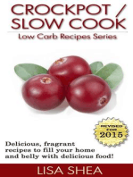 CrockPot / Slow Cook Low Carb Recipes (Low Carb Reference, #6)