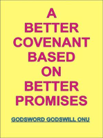 A Better Covenant Based On Better Promises