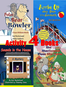 4 Activity Books: Fun & Learning for Families Vol. I
