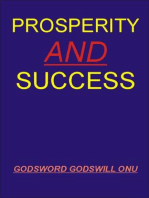 Prosperity and Success