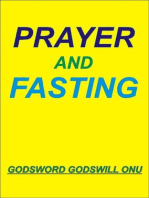 Prayer and Fasting
