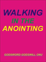 Walking In the Anointing