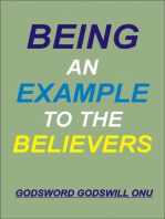 Being an Example to the Believers