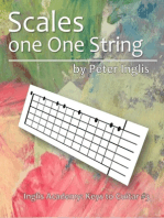 Scales on one String