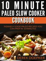 10 Minute Paleo Slow Cooker Cookbook