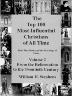 The Top 100 Most Influential Christians of All Time, Volume 2
