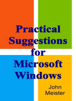 Practical Suggestions For Microsoft Windows