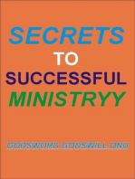 Secrets to Successful Ministry