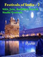 Sikh, Jain, Buddhist, Parsi & Sindhi Festivals