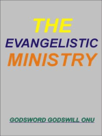 The Evangelistic Ministry