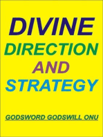 Divine Direction and Strategy