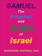 Samuel, the Prophet and Judge of Israel