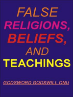 False Religions, Beliefs, and Teachings