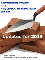 ReBuilding Wealth in a Paycheck-to-Paycheck World
