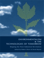 Environmentalism and the Technologies of Tomorrow