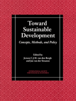 Toward Sustainable Development: Concepts, Methods, and Policy