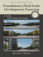 Foundations of Real Estate DevelopmFinancing: A Guide to Public-Private Partnerships