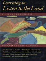 Learning to Listen to the Land