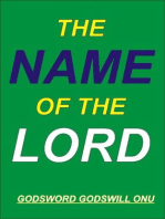 The Name of the Lord