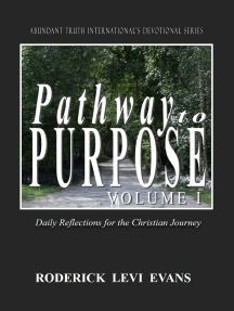 Pathway to Purpose (Volume I): Daily Reflections for the Christian Journey