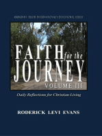 Faith for the Journey (Volume III)