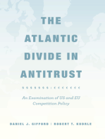 The Atlantic Divide in Antitrust