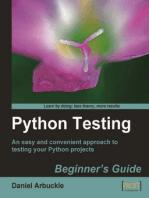 Python Testing Beginner's Guide