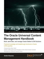 The Oracle Universal Content Management Handbook: Build, administer, and manage Oracle Stellent UCM Solutions