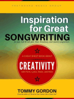Inspiration for Great Songwriting: for pop, rock & roll, jazz, blues, broadway, and country songwriters