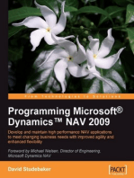 Programming Microsoft?DynamicsT NAV 2009