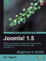 Joomla! 1.5 Beginner's Guide