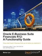 Oracle E-Business Suite Financials R12